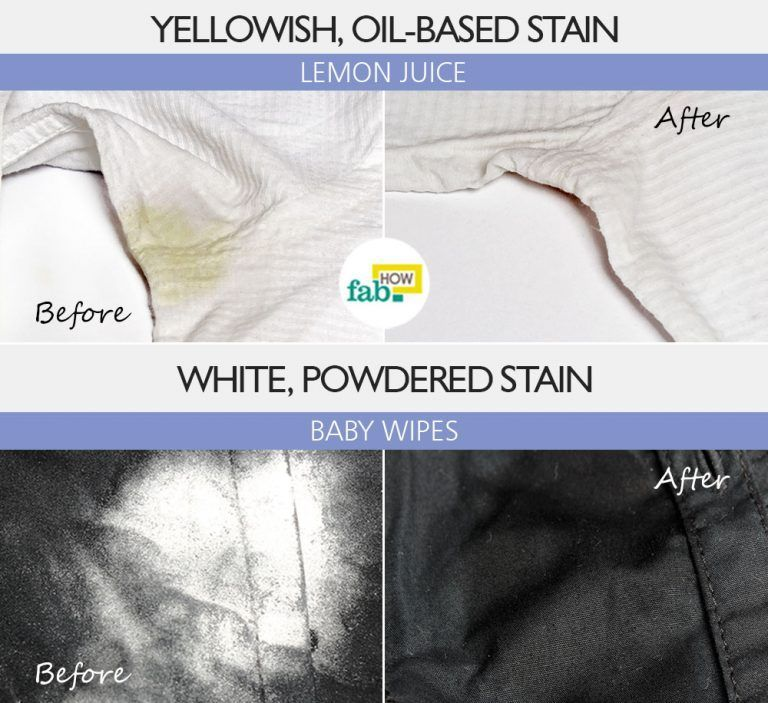 How To Remove Deodorant Stains From Clothes Remove Deodorant