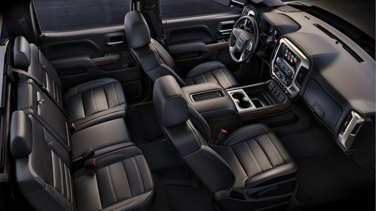 Interior Image Of The 2018 Sierra Denali Hd Heavy Duty Luxury Pickup Truck Gmc Sierra Truck Interior Gmc Yukon