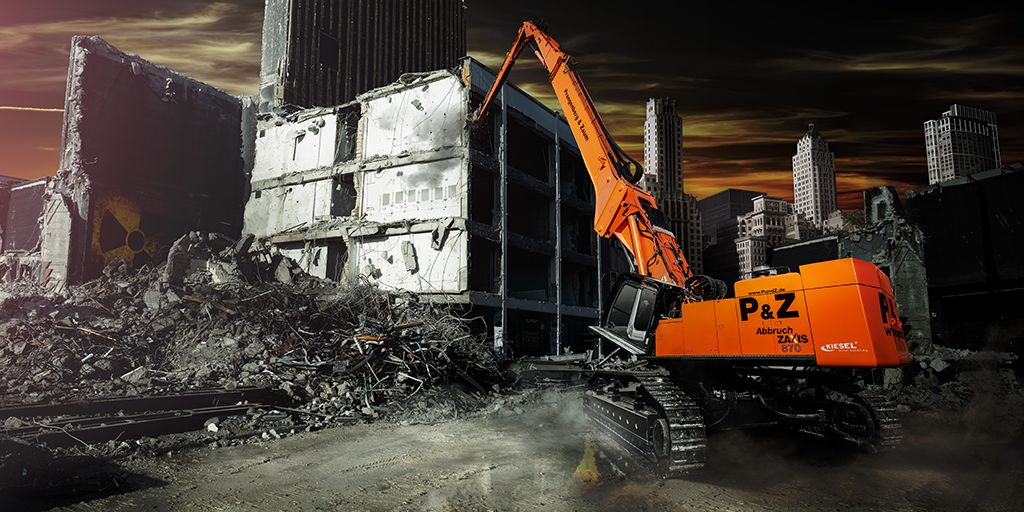 pictures of a hitachi demolition - Google Search