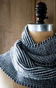 Two Color Reversible Scarf Free Knitting Pattern Pattern Category