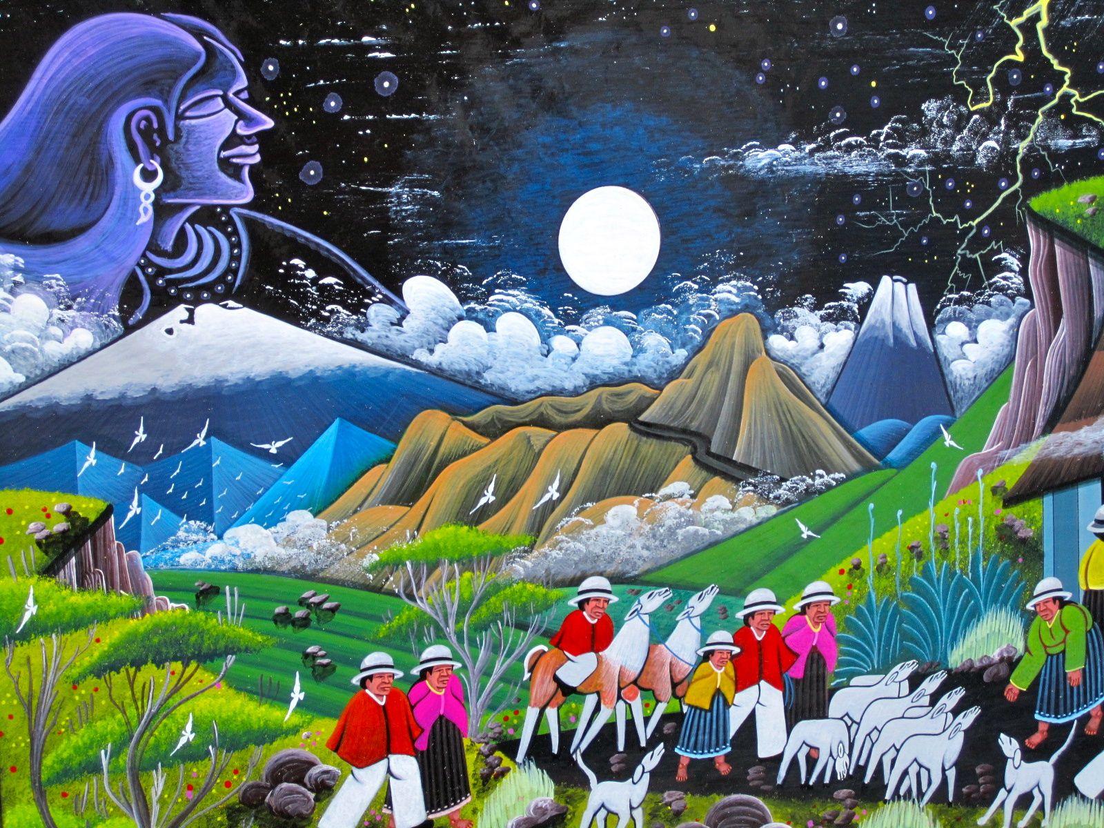 Words of all kinds.: Ecuadorian Art: Oswaldo Guayasamin | Artist ...