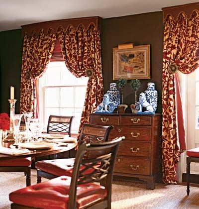 What Color Curtains With Red Walls - Makipera.com