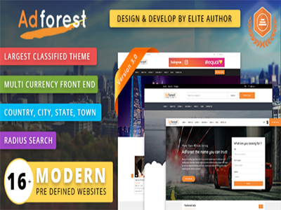 Adforest - Best Classified Ads Wordpress Theme | Wordpress and Ads