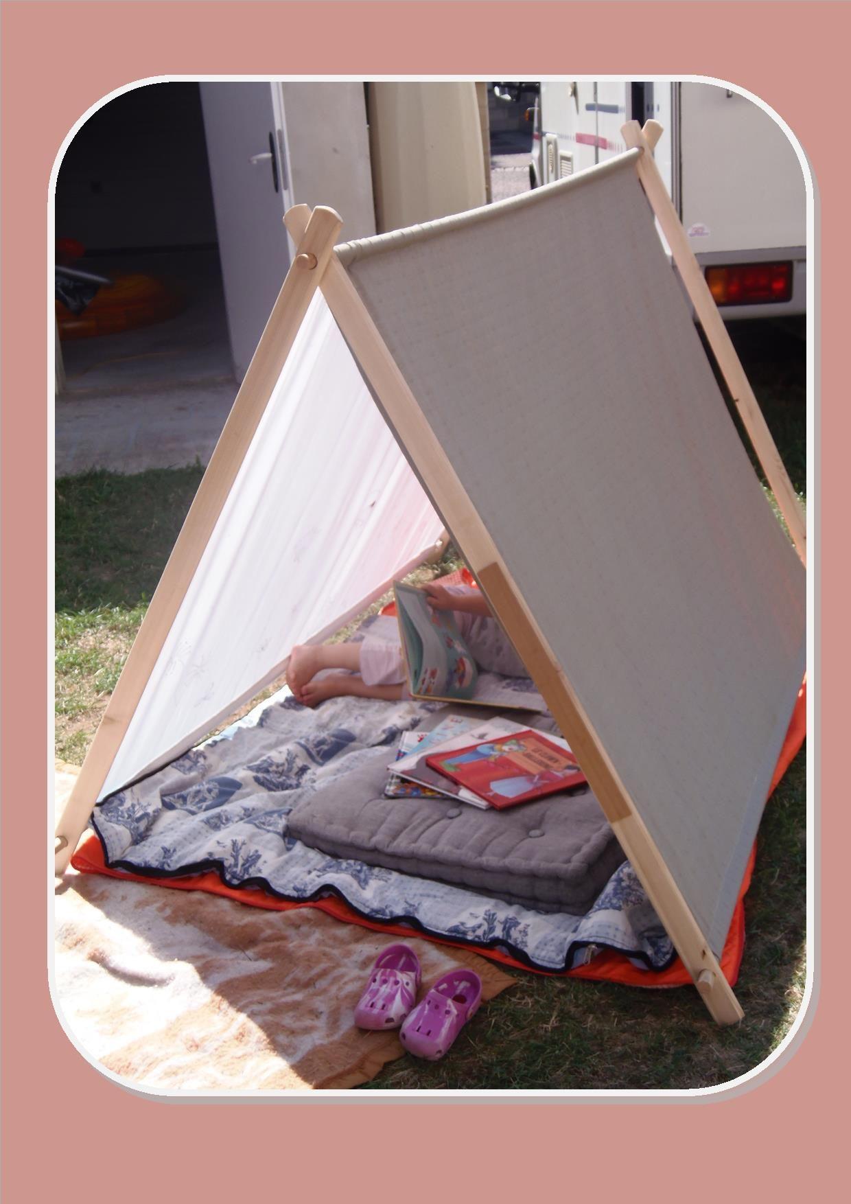 Fabriquer une tente pour le jardin | Selber machen ...