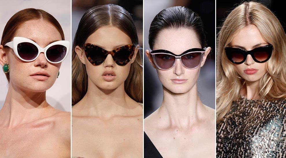 Gafas de sol verano 2013: Miradas de pasarela