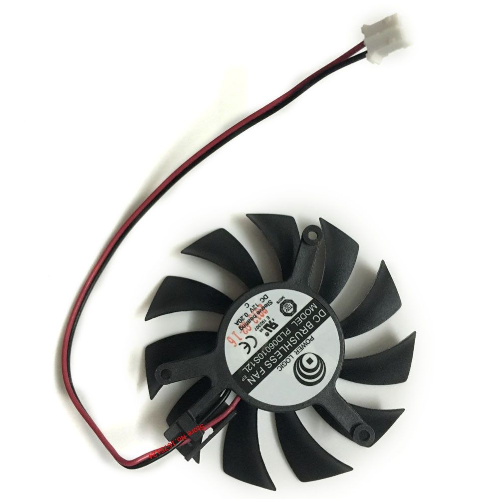 Computer Radiator Cooler Fans Power Logic Pld06010s12l Hydraulic