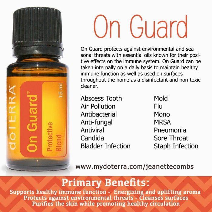 On Guard the neosporin of the oils | Essential Oils | Terra