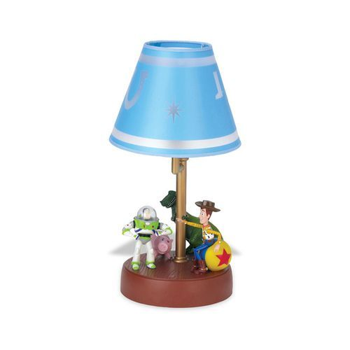 This Animated Lamp Would Make A Nice Addition To Any Bedroom Or Den The Decorated Lamp Features The Moving Toy Story Room Toy Story Bedroom Toy Story Nursery