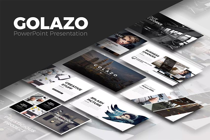 golazo cool powerpoint presentation template design so you re