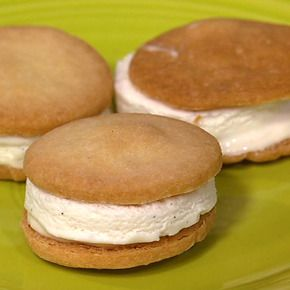 Carla Hall's Lemon Ice Cream Sandwiches - the chew - ABC.com