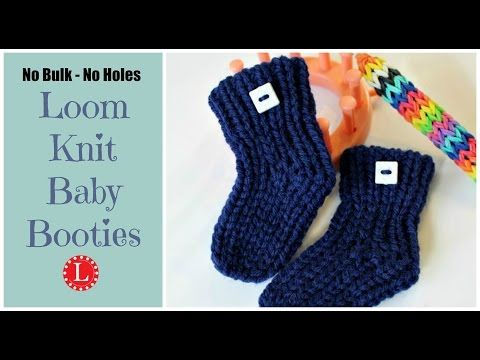 13 Loom Knitting Projects For Beginners Knit Baby Booties Loom