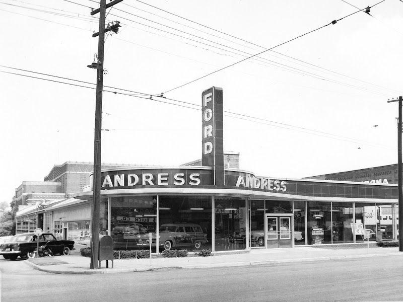 Car Dealerships In Shreveport La >> Andress Ford, Shreveport, LA, 1953. Wagons in vintage Street scenes - Page 239 - Station Wagon ...