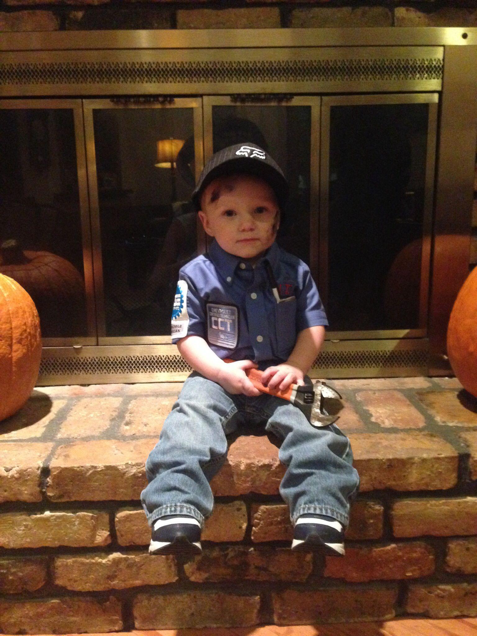 Little Boy Mechanic Halloween Costume! (With Images