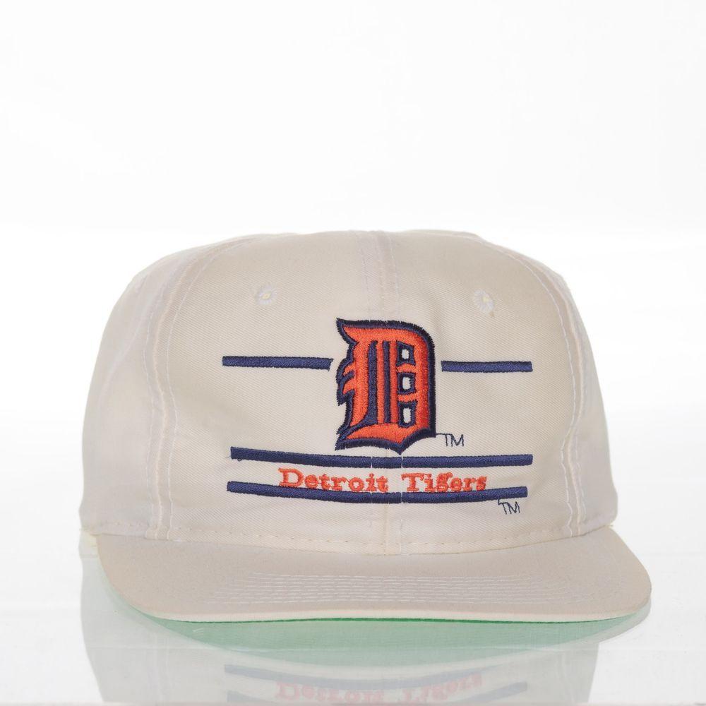 Detroit Tigers The Game Vintage Hat Snapback Split Bar Mlb Baseball Cap Mlb Baseball Caps Detroit Tigers Hats Vintage