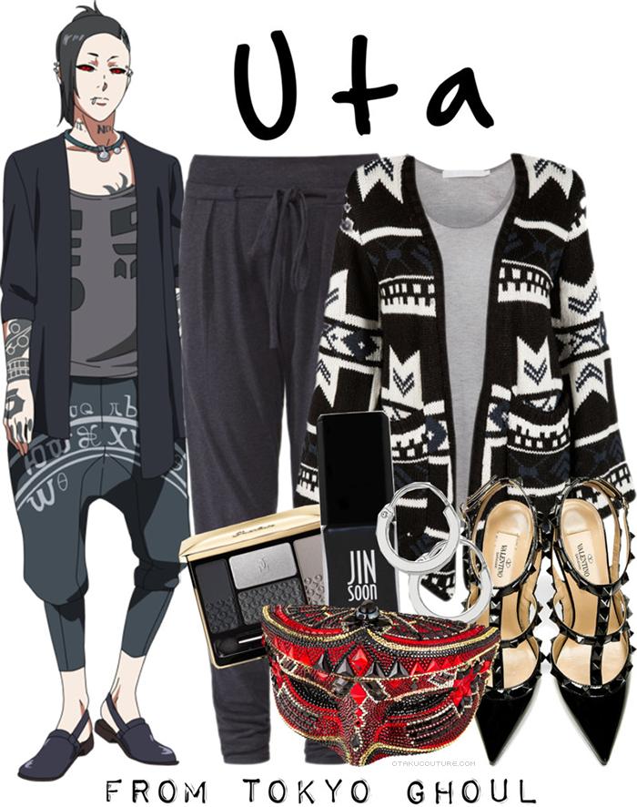 Tokyo Ghoul Fashion » Uta