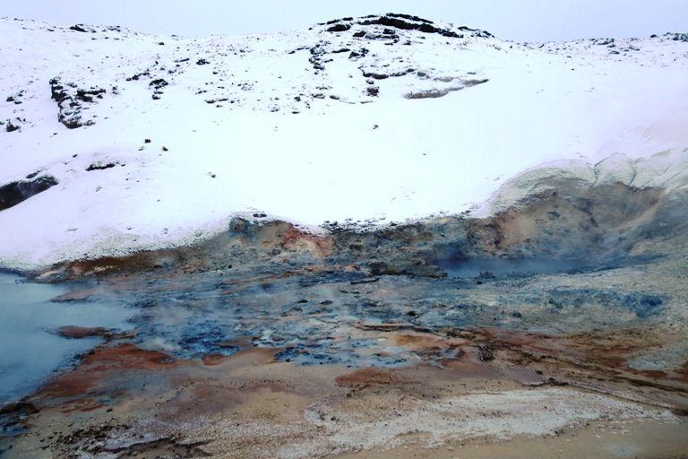 Touring the Reykjanes Peninsula - hot springs, mud pots, and more. #iceland #reykjavik #travel #nature #outdoors #europe