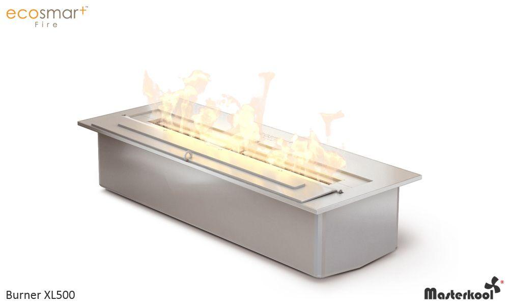 Chimenea a medida con quemador de bioetanol Long 400 by Shioconcept