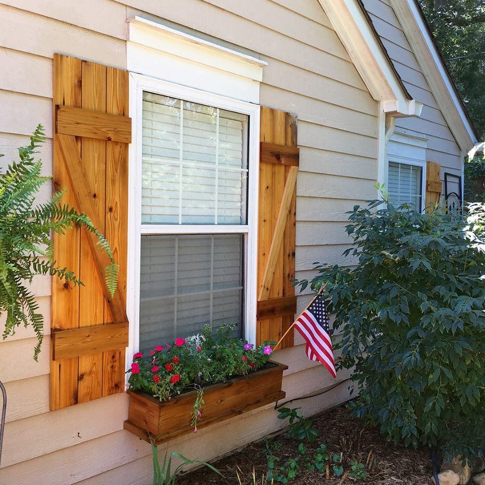 Custom Cedar Shutters House Shutters Window Shutters