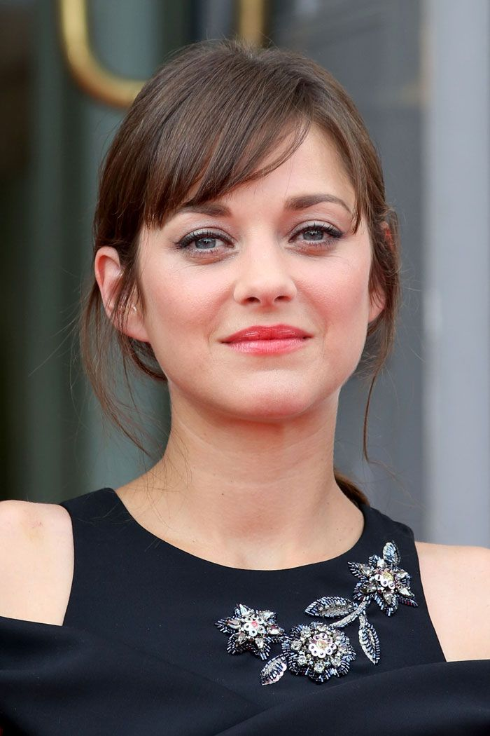 Marion Cotillard Bangs Marion Cotillard Hair White Blonde Hair