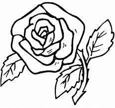 Resultado De Imagen Para Como Dibujar Una Rosa Facil Y Bonita