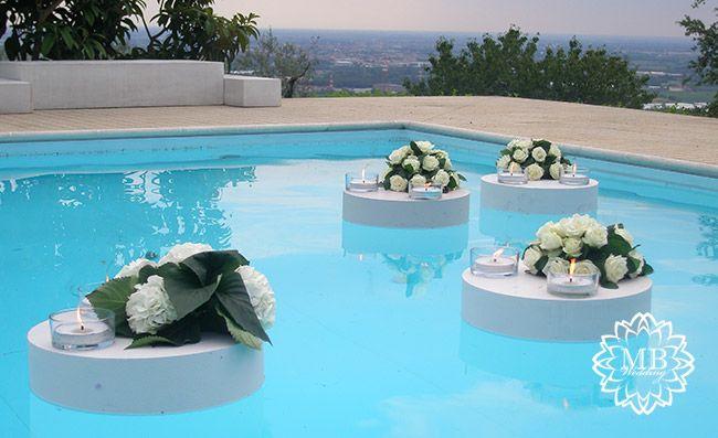 allestimento piscina boda piscinas decoracion boda
