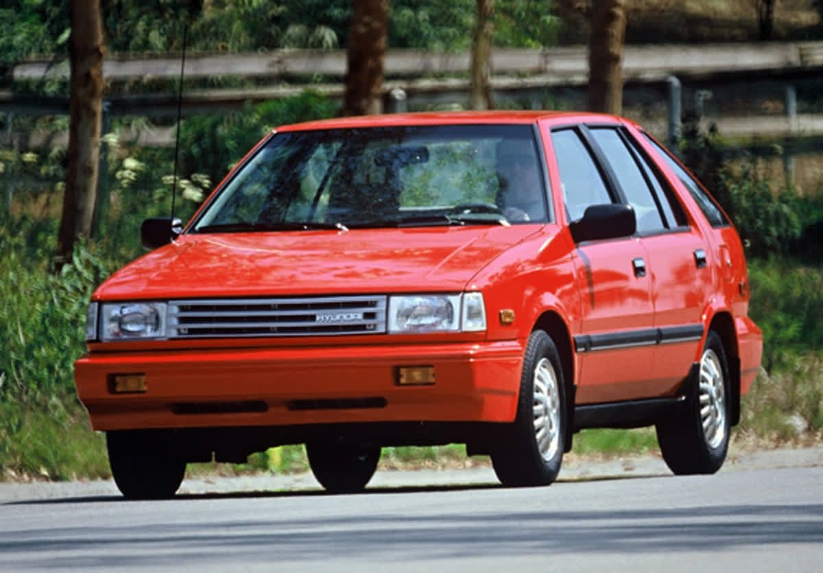 Check Out This 1987 Hyundai Excel For Throwbackthursday Tbt