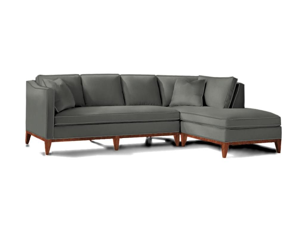 Sherrill 2540 Sect Living Room Sectional   Goodu0027s NC Discount Furniture  Stores And Furniture Outlets. Bozeman Gray Fabric.