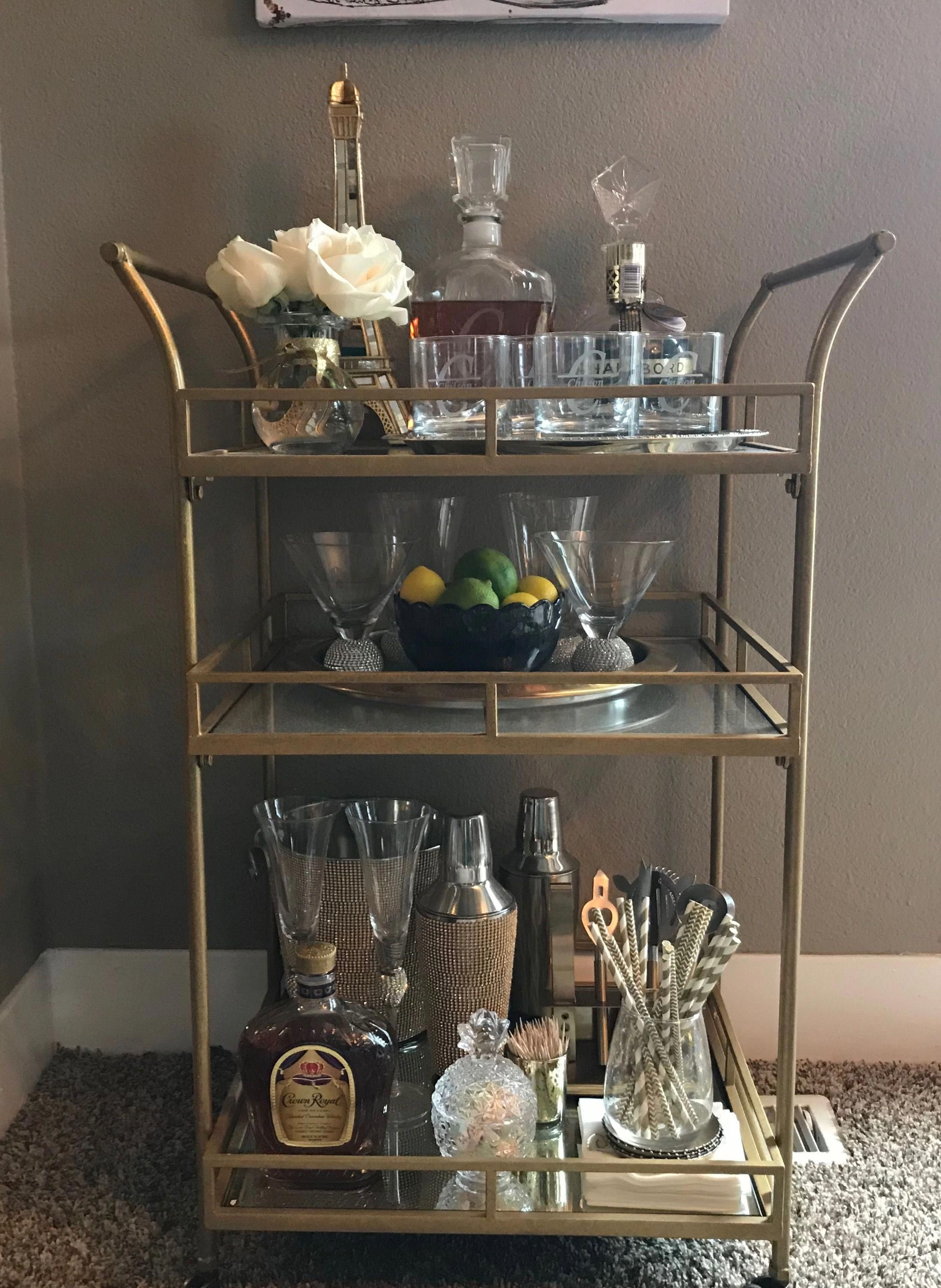 Acquire Wonderful Suggestions On Gold Bar Cart Target They Are Actually Offered For You On Our Site Gold Bar Cart Bar Cart Decor Bar Cart