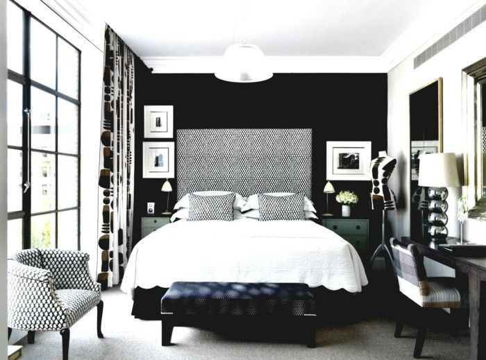 In Black 31 Examples That Black Bedrooms Are Stylish And