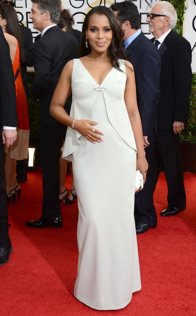 Kerry Washington Understatedly Chic As Always In Balenciaga Bebe Goldenglobes Nice Dresses Red Carpet Fashion Red Carpet Dresses