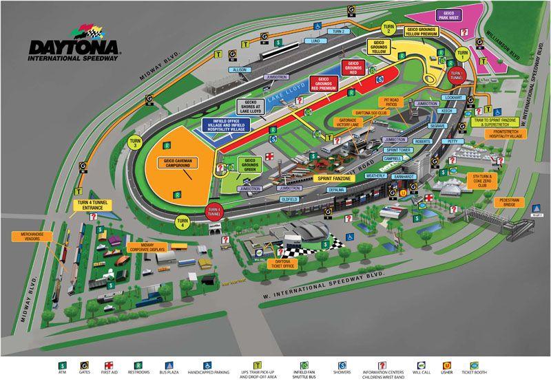 Speedway Koa Campground In Daytona Beach Florida