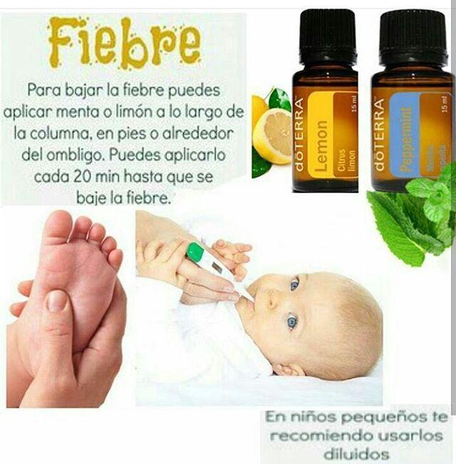 remedios caseros para fiebre alta bebes