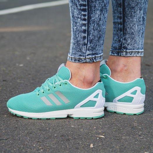 Damskie Buty Sneakersy Adidas Zx Flux W B34059 Adidas Sneakers Women Sneakers Shoes