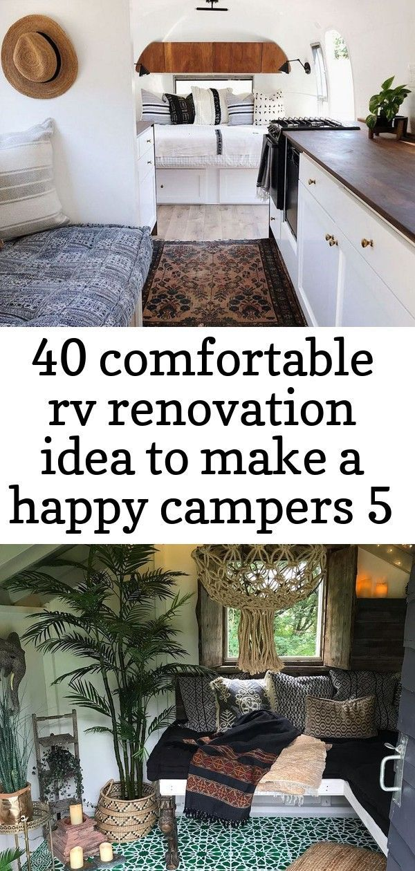 RV CAMPER DOES VAN LIFE REMODEL INSPIRE YOU - Interior Design Ideas amp Home Decorating Inspiration -