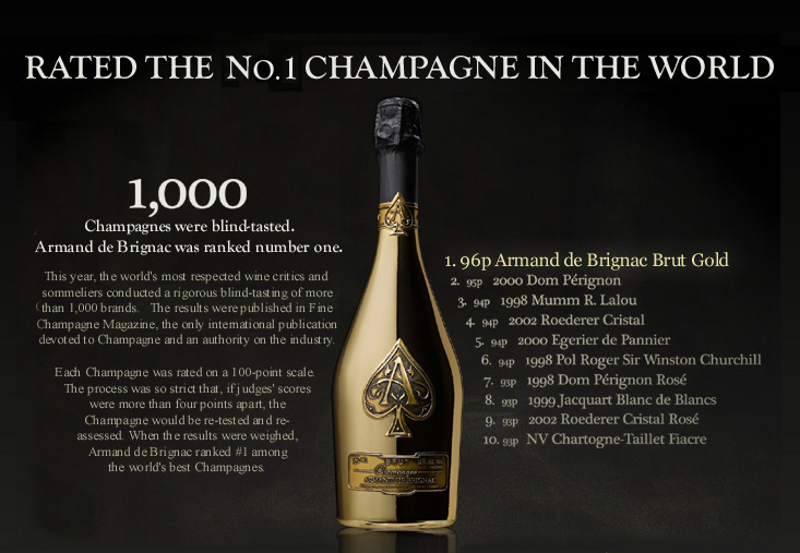 champagne midas | The $100,000 Midas Champagne Bottle | THE