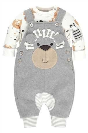 Lion Jersey Dungarees - £17