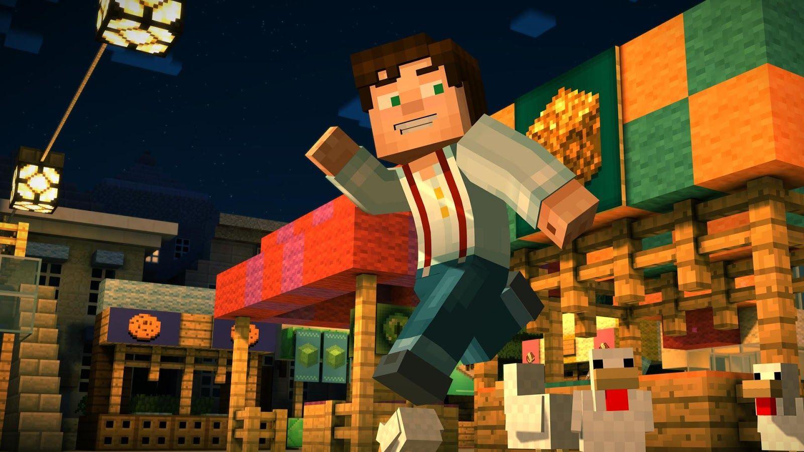 Minecraft Story Mode Apk Mod V114 Data Unlocked Episode Offline