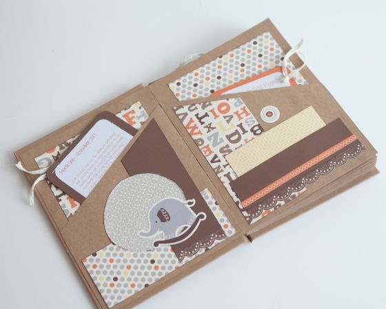 Handmade Pregnancy Journal Tutorial