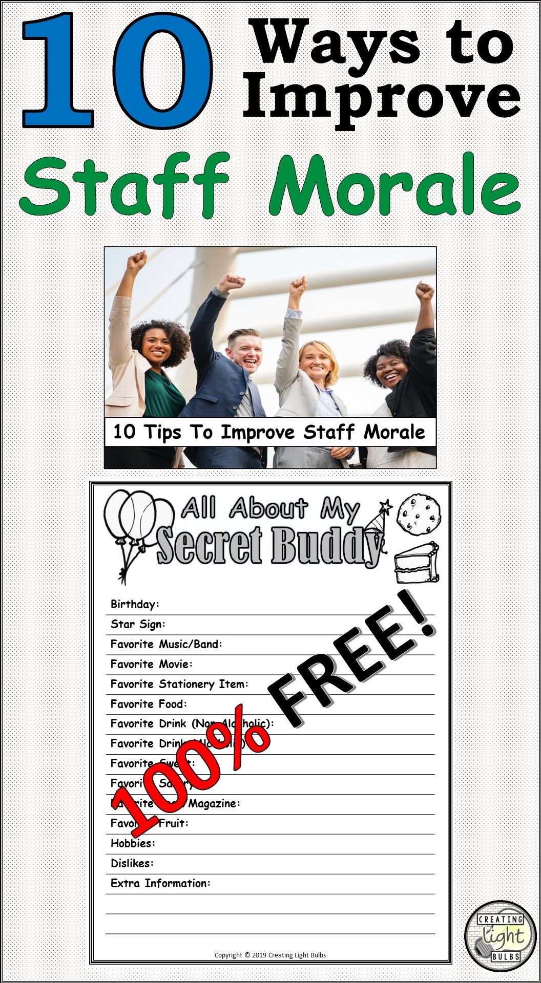 10 Steps To Improve Staff Morale At Your School In