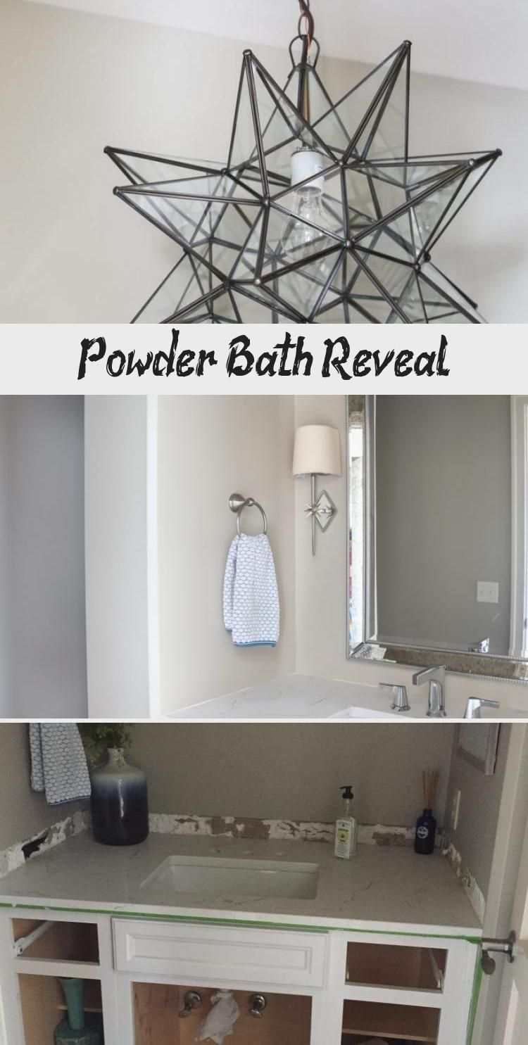 Powder Bath Reveal #halenavybenjaminmoore