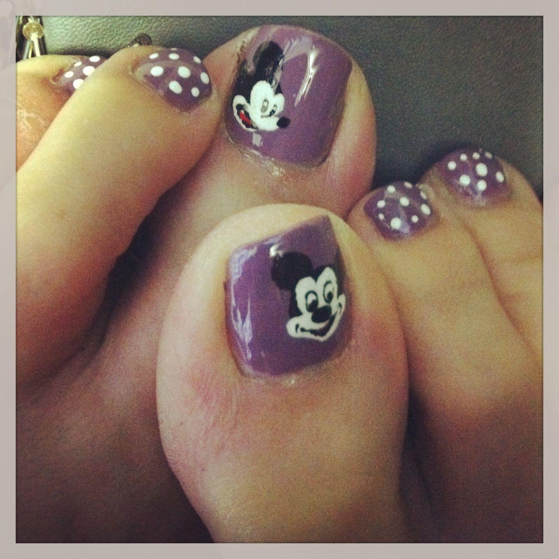 Mickey Mouse pedi   mickey!!!!!!!!!!!!!   Pinterest