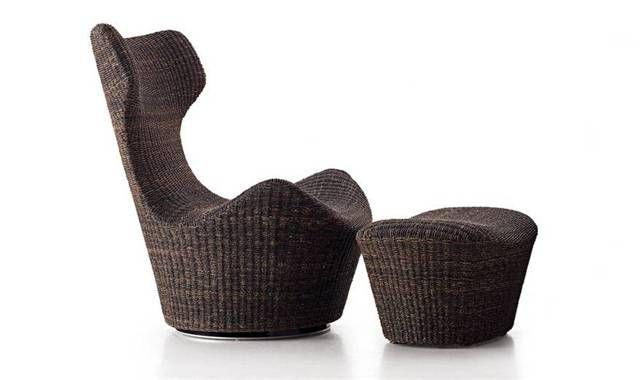 Armchair: GRANDE PAPILIO - Collection: B Italia - Design: Naoto Fukasawa