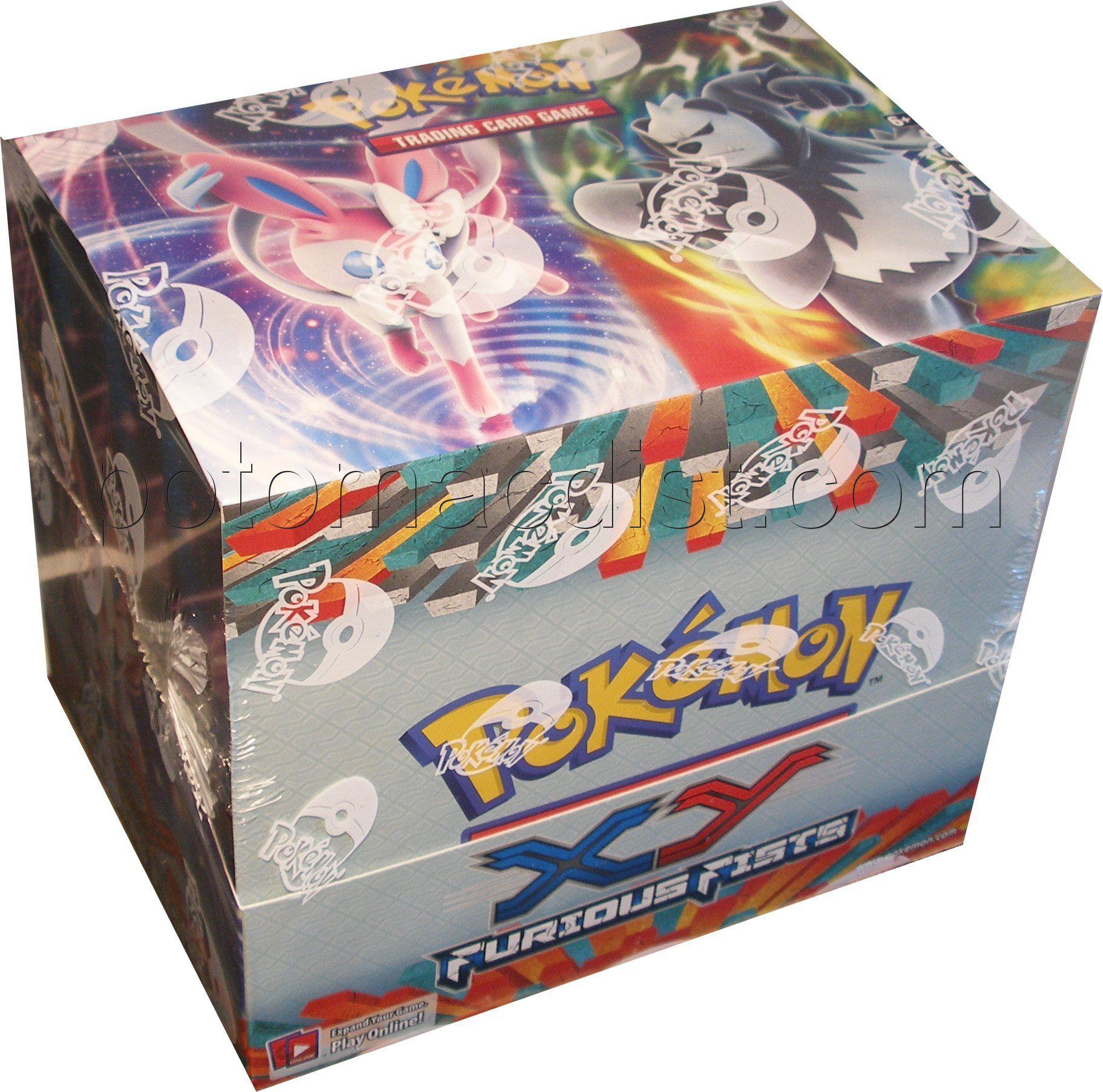 Pokemon: XY Furious Fists Theme Deck Box$71 | Potomac Distribution