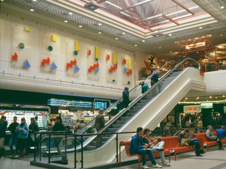 Vintage Photos Of Malls In The 90s Mall Of America Shopping Center Vintage Mall
