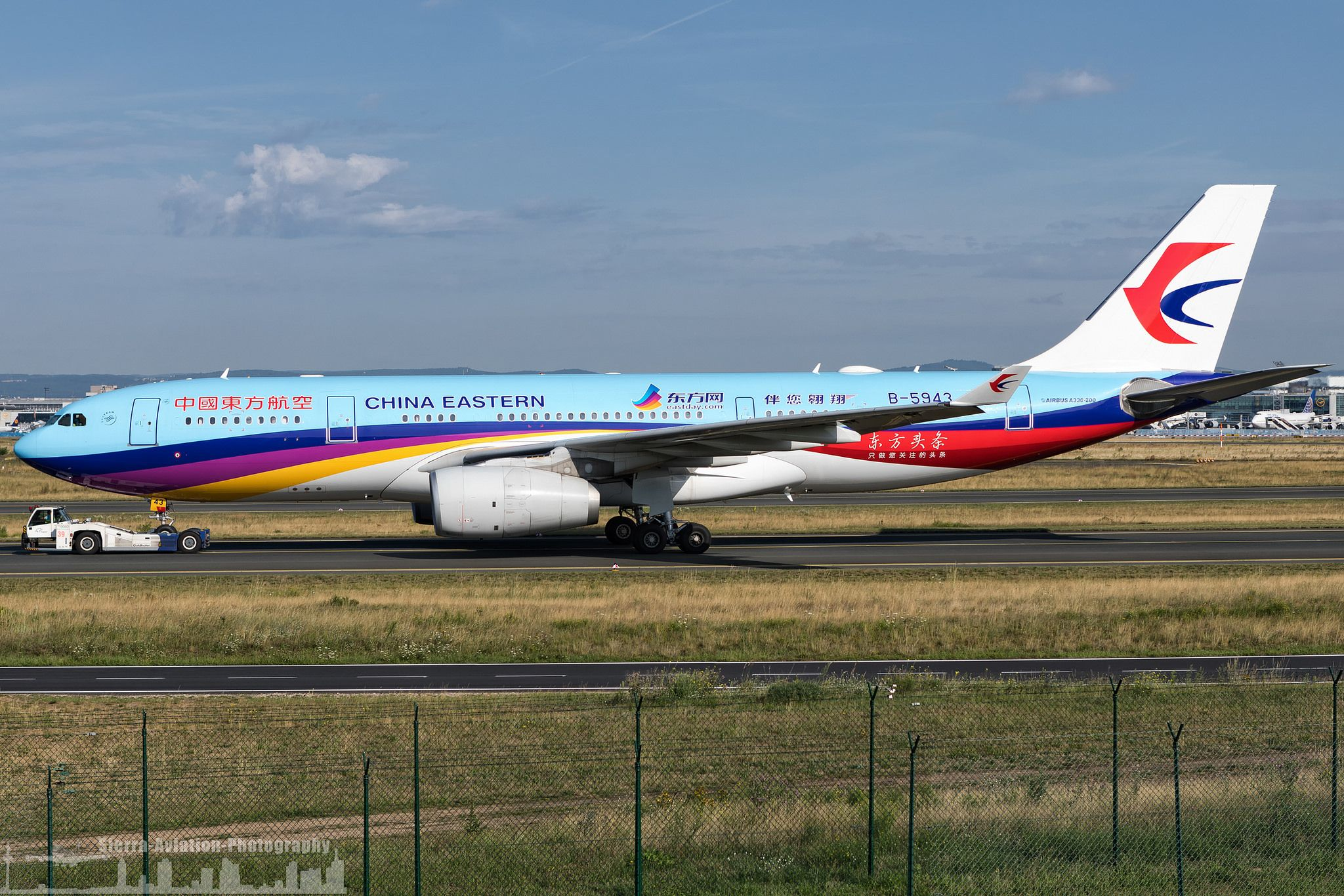 B5943 China Eastern Airlines Airbus A330243 special
