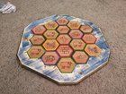 My first DIY! Settlers of Catan board (Wood)