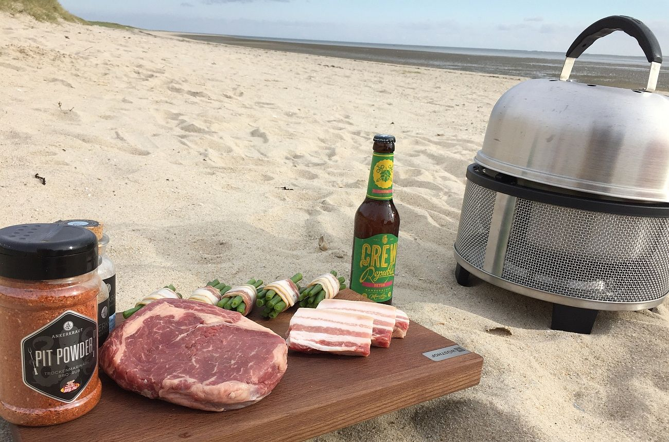 cobb premier gas grill im test auf sylt | all about gas grilling
