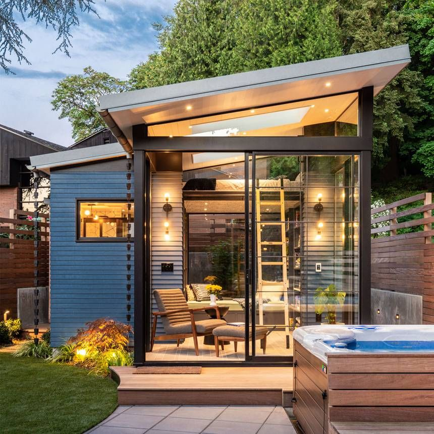 Tiny 169 Sq. Ft. Backyard Reading Retreat Is Perfect For