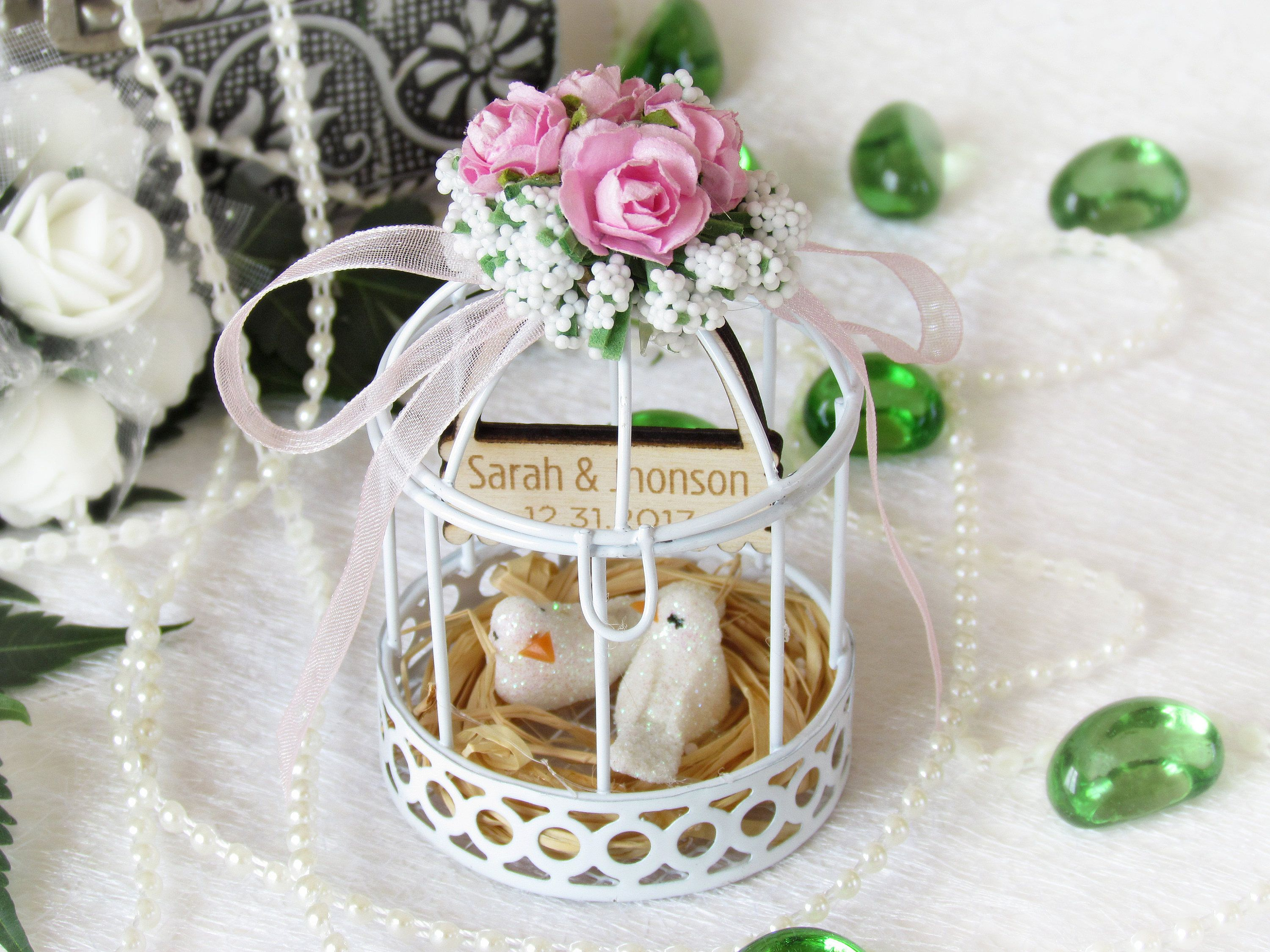 Wedding Favor Boxes,Birdcage Wedding Favor Box,Shower Favors,Candy ...