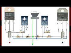Amplifier Yiroshi Cara Menggabungkan Driver Ke Transistor Final Youtube Amplificador De Audio Electronics Projects Amplificador De Som Caseiro